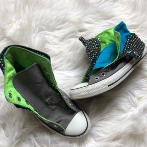 Women's Converse High Top Sneakers Multi Tone